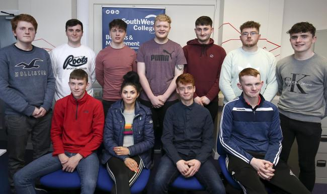 Dragons' Den pitch for SWC's business students